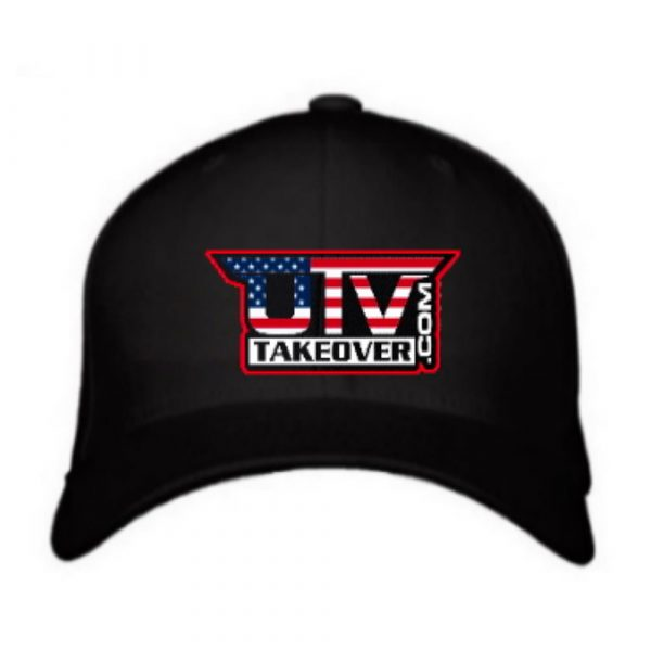 UTV Takeover USA Logo Flex-Fit Hat