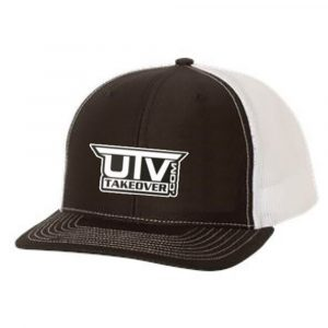 UTV Takeover Black & White Mesh Trucker Hat