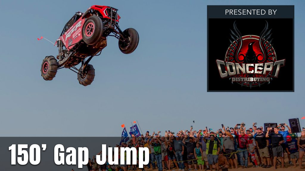 2021 UTV Takeover Oregon 150' Gap Jump presented by the Concept Distributing