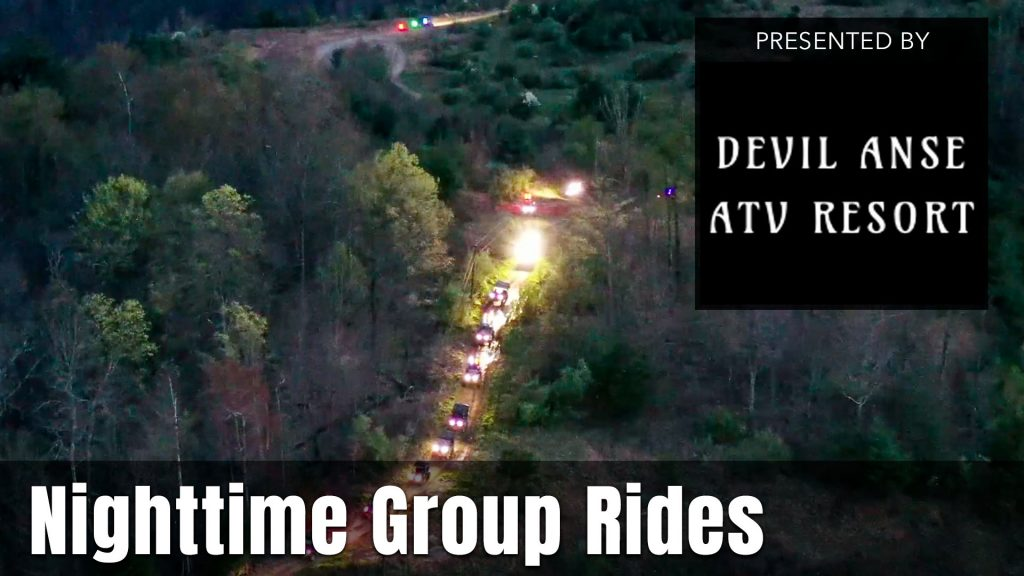 UTV Takeover Virginia Nighttime Guided Group Rides presented by Devil Anse ATV Resort