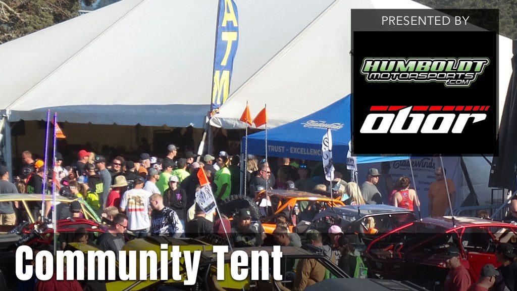 2021 UTV Takeover Oregon Community Tent presented by the Humboldt Motorsports & Obor Tires