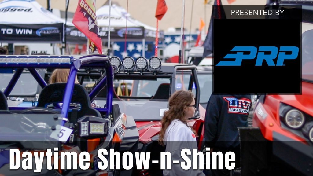 2021 UTV Takeover Oregon Daytime Show-n-Shine presented by PRP Seats