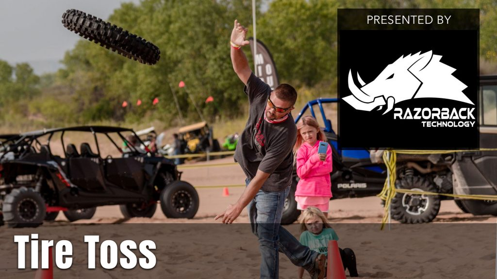 2021 UTV Takeover Oregon Tire Toss presented by Razorback Technology