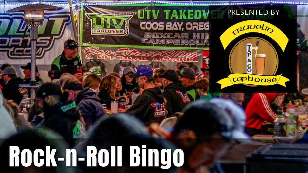 2021 UTV Takeover Oregon Rock-n-Roll Bingo presented by the Travelin Taphouse