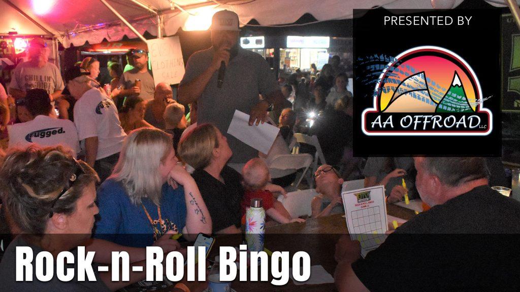 UTV Takeover Virginia Rock-n-Roll Bingo presented by AA Offroad