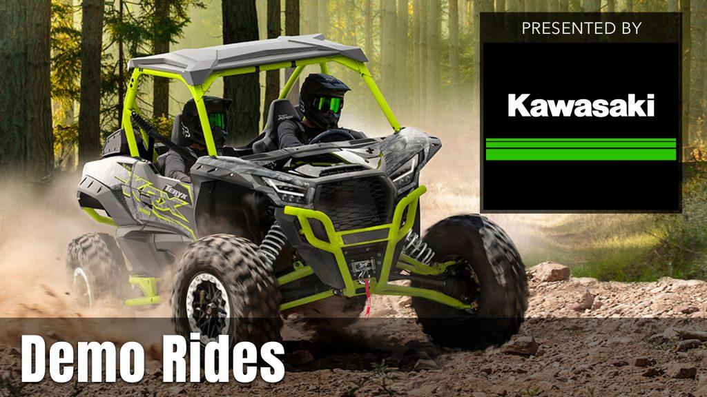 UTV Takeover Demo Rides presented by Kawasaki