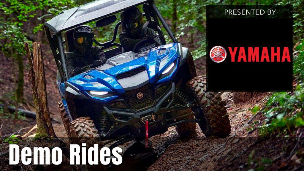 UTV Takeover Demo Rides presented by Yamaha
