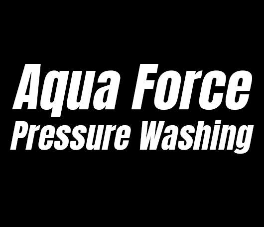 Aqua Force Pressure Washing