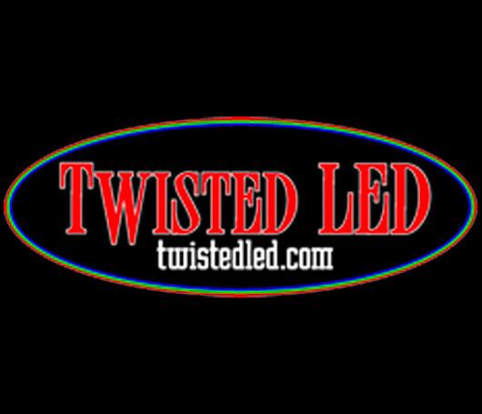 Twisted LED Whips