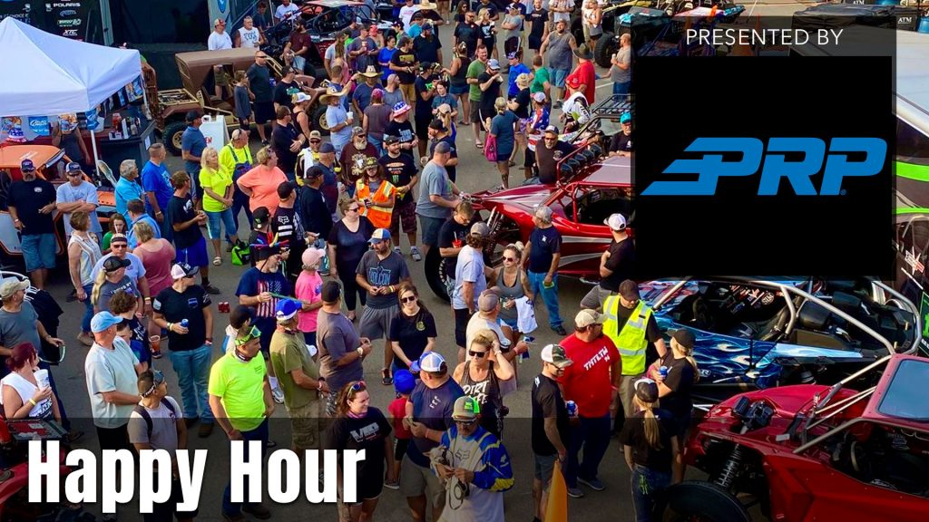 UTV Takeover Happy Hour presented by PRP Seats