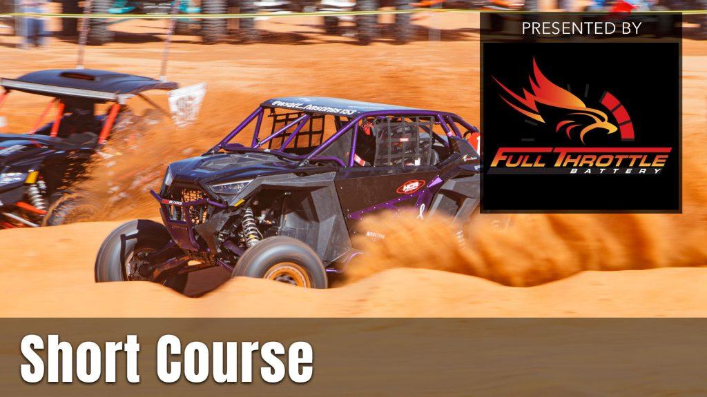 UTV Takeover Short Course presented by Full Throttle Battery