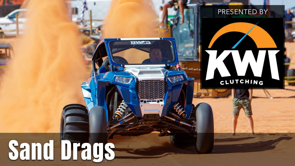 UTV Takeover Sand Drags presented by KWI Clutching